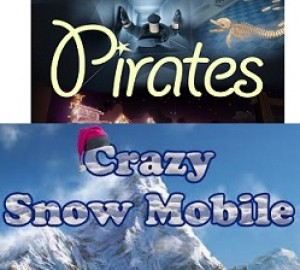 Pirates + Crazy Snowmobile (7D)