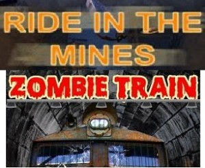 Ride in the mines + Zombie Train (7D)