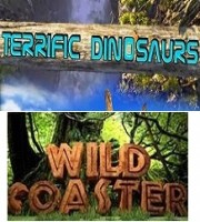 Terrific Dinosaur + Wild Coaster (7D)